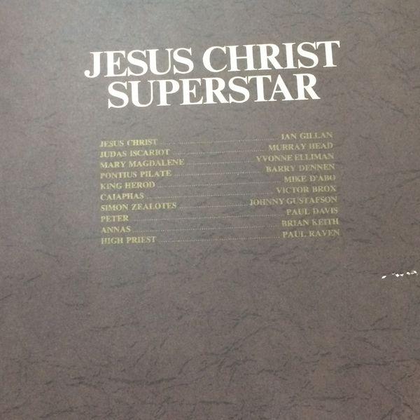 "Original 1970 Jesus Christ Superstar album by Andrew Lloyd Webber and Tim Rice ""October 1970"""