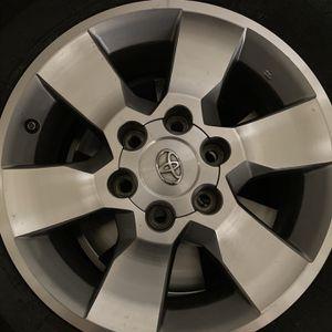"Original Toyota 4Runner 17"" Set Of 4 Wheels for Sale in Dallas, TX"