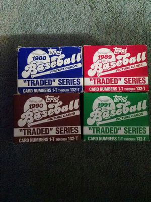 Topps Baseball Traded Series Sets for Sale in Yonkers, NY