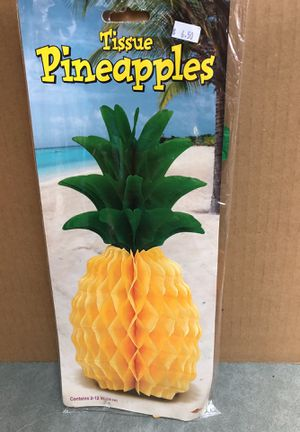 12 inch pineapples for Sale in Whiteriver, AZ