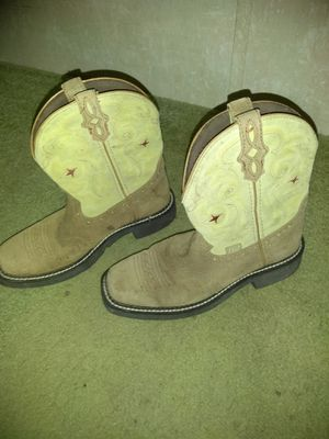 Justin's Boots for Sale in Sanctuary, TX