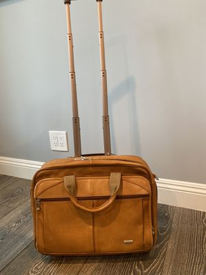 "Solo- Premium Leather rolling backpack with room for a 15.6"" Laptop for Sale in Los Gatos, CA"
