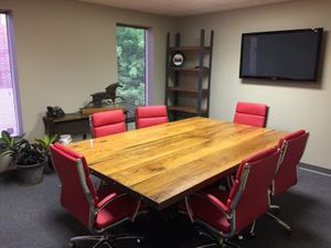 Rustic industrial conference table for Sale in Columbus, OH