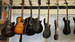 Acoustic and electric guitars for Sale in Lodi, CA