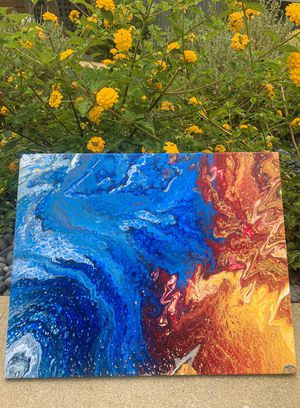 Acrylic pouring for Sale in Beverly Hills, CA