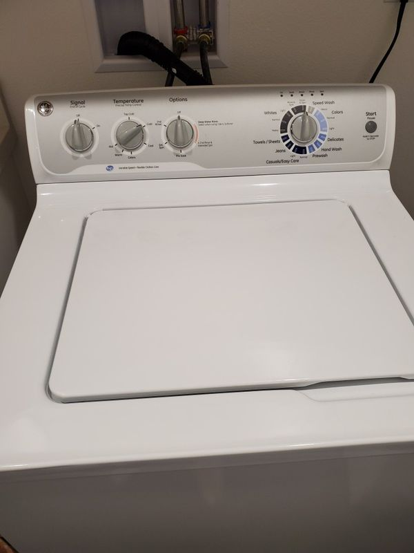 GE Washer and Dryer, Like New