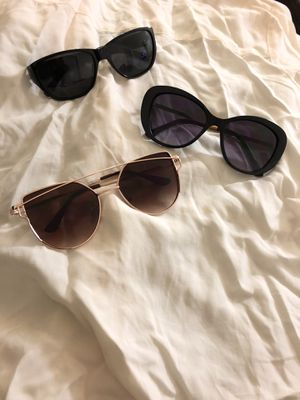 Sunglasses, $5 each or $12 for all for Sale in Memphis, TN