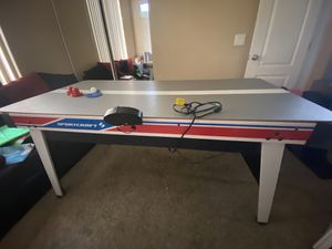 Sports craft air hockey and table tennis for Sale in Phoenix, AZ