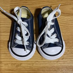 Infant Blue Chuck Taylor Converse for Sale in Lacey,  WA