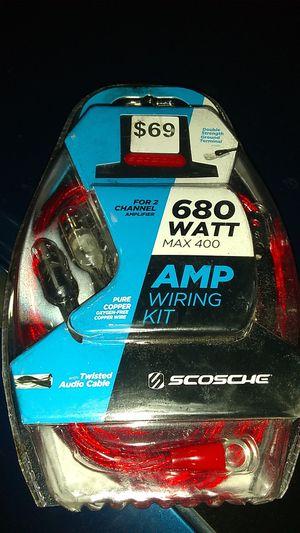 Scosche amp wiring kit680watt brand new for Sale in Portland, OR