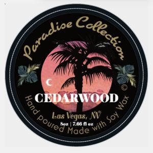 Soy Wax Scented Candles CEDARWOOD for Sale in Las Vegas, NV