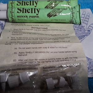 (2)30g. Shelly Henna Paste Made In India for Sale in San Benito, TX