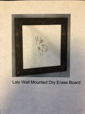 Laly Wall Mounted Dry Erase Board for Sale in CORONA DL MAR, CA