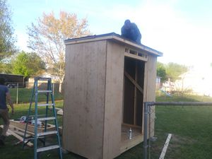 4x8x8 storage shed .new.about complete for Sale in Murfreesboro, TN