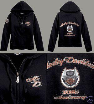 Women's black Harley Davidson hoodie for Sale in El Paso, TX