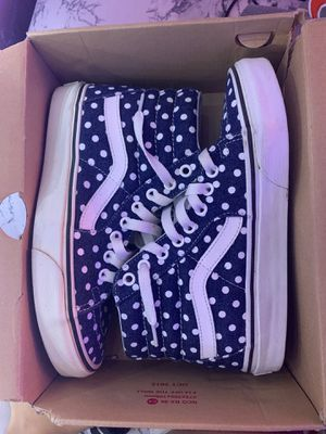Sk8-Hi denim dots vans for Sale in Tampa, FL