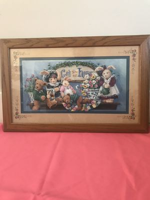 Picture frame decorative home interiors $35 for Sale in Long Beach, CA