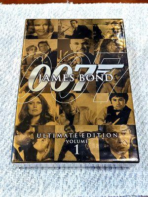 James Bond Ultimate Edition - Vol. 1 (10 DVDs) for Sale in Scarsdale, NY
