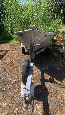Valco boat aluminum with 20 hp Mercury engine for Sale in Snohomish,  WA