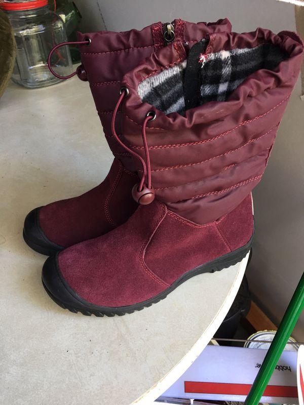 Sporto waterproof winter boots, women's size 8 1/2 Medium