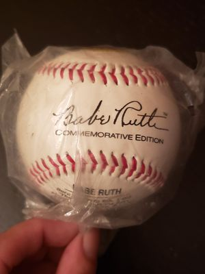 Used, Babe Ruth Commemorative Baseball for Sale for sale  Fairfield, CT