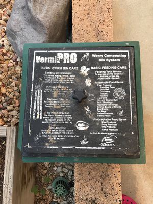 Worm composting bin system for Sale in Corona, CA