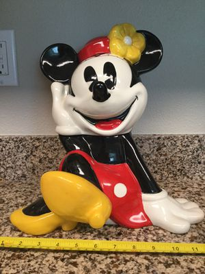 Vintage Minnie Mouse Cookie Jar for Sale in Happy Valley, OR