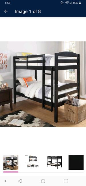 Used Bunk beds (not actual pic) for Sale in Denver, CO