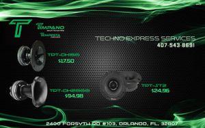 TIMPANO/TEMPESTA PRO AUDIO DISCOUNTS! for Sale in Orlando, FL