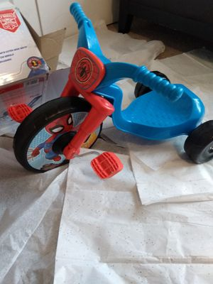 Spider man tricycle for Sale in Rex, GA