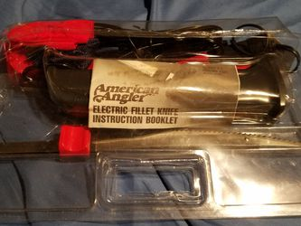 American Angler 12volt Electric Fillet knife for Sale in Peoria,  IL