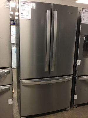 NEW Whirlpool Counter Depth 20 CuFt French Door Refrigerator!! for Sale in Gilbert, AZ