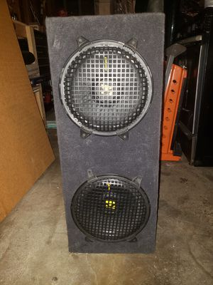 Subwoofers 10 inch kickers for Sale in Corona, CA