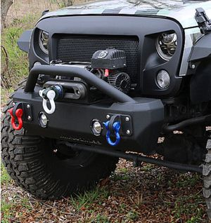 07 - 15 Jeep Wrangler JK Iron Cross Front Stubby Bumper with Bar for Sale in Orlando, FL