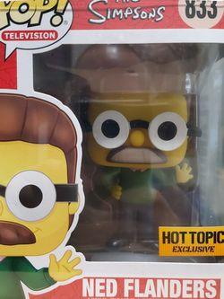 The Simpsons Ned Flanders Funko Pop for Sale in Hacienda Heights,  CA