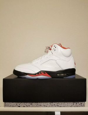 Jordan Fire Red 5 SIZE 11 Silver Tongue 2020 *BRAND NEW* for Sale in Kissimmee, FL