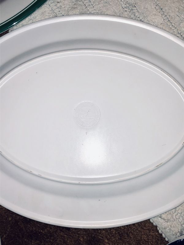 Coca Cola plastic plates