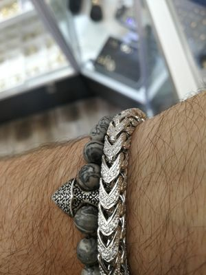 Silver 925 iced out bracelet for Sale in Los Angeles, CA