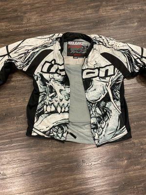 Icon perforated hooligan motorcycle jacket size medium for Sale in Hawaiian Gardens, CA