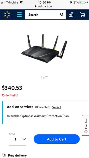 Asus RT-AX88U AX6000 Dual-Band Wifi Router for Sale in Queens, NY