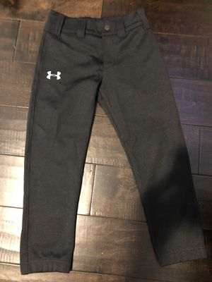 Youth small under armour black baseball pants. Unused. for Sale in Parkland, FL