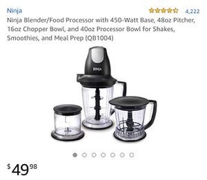 Ninja blender/ juicer for Sale in Tampa, FL