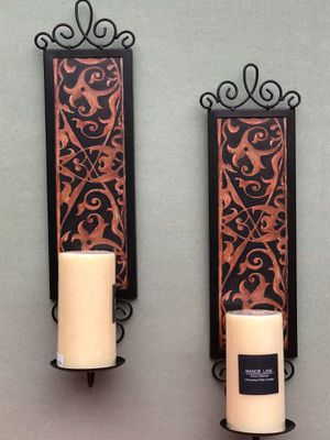 Home interiors Sconces/kolh's candles for Sale in Dallas, TX