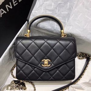 CHANEL small Flap bag with top handle, calfskin. Coming with authentic hologram and card. Dust bag included. for Sale in Hollywood, FL
