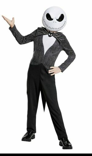 Jack the skellington Costume size 7-8 for Sale in Bell Gardens, CA