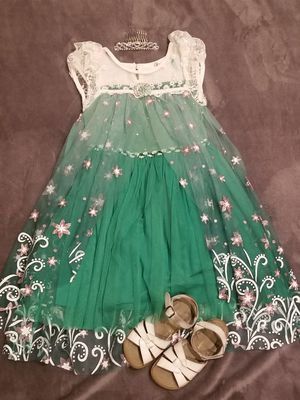 Disney Frozen Fever Dress for Sale in Long Beach, CA