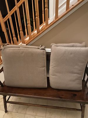 Patio/Deck Cushions (Set of 2 or 4) for Sale in Frederick, MD