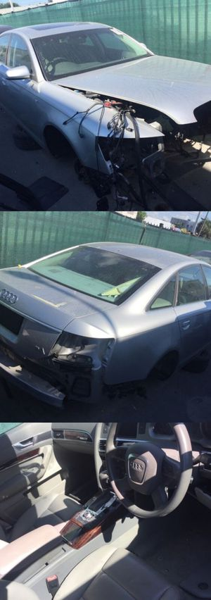 Audi A6 2007 for parts parting out oem part for Sale in Key Biscayne, FL