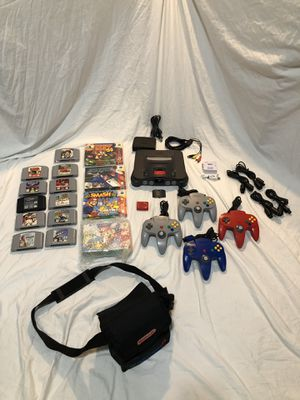 COMPLETE RARE N64 COLLECTION for Sale for sale  Yonkers, NY