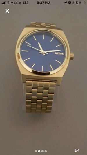 Nixon Gold Watch for Sale in Silver Spring, MD